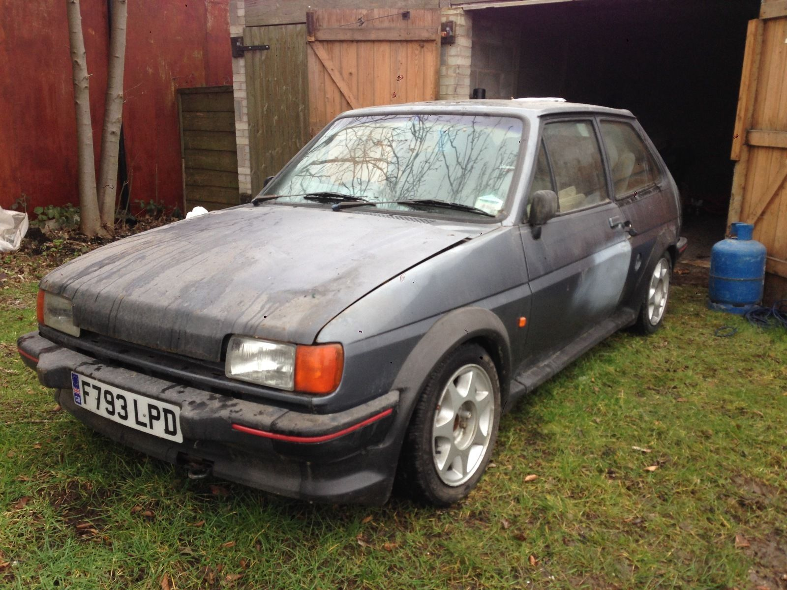 Barn Find Of The Day - FORD FIESTA XR2 TURBO TECHNICS ...