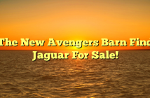 The New Avengers Barn Find Jaguar For Sale!