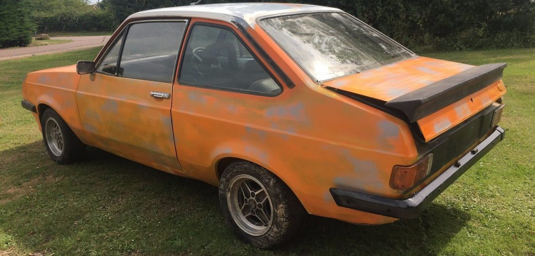 BARN FIND FORD ESCORT MK2 RS2000