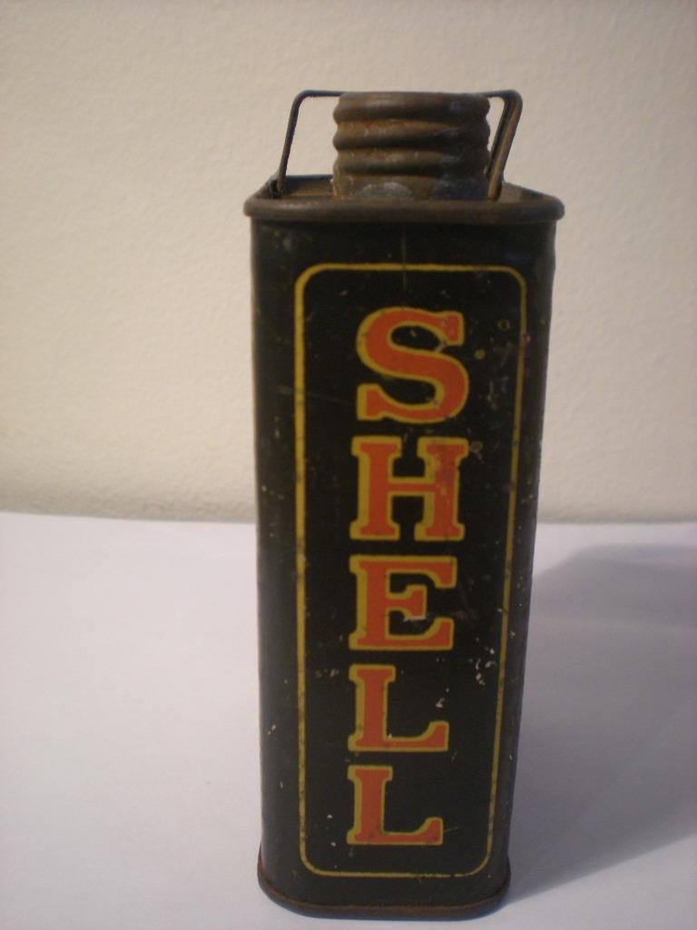 vintage shell motor oil tin for sale