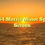 1954 Morris Minor Split Screen