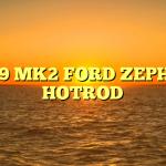 1959 MK2 FORD ZEPHYR HOTROD