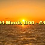 1964 Morris 1100 – £450