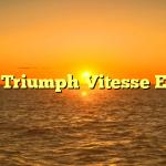 1965 Triumph Vitesse Estate