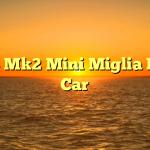 1968 Mk2 Mini Miglia Race Car