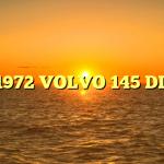 1972 VOLVO 145 DL