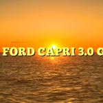 1979 FORD CAPRI 3.0 GHIA