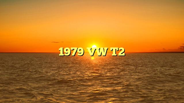1979 VW T2