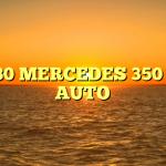 1980 MERCEDES 350 SL AUTO