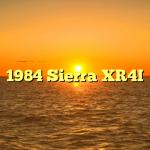 1984 Sierra XR4I