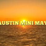 1986 AUSTIN MINI MAYFAIR