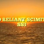1989 RELIANT SCIMITAR SS1
