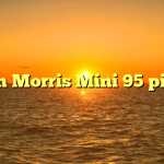 Austin Morris Mini 95 pick up