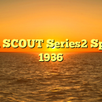 BSA SCOUT Series2 Sports 1936