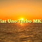 Fiat Uno Turbo MK2