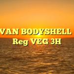 MINI VAN BODYSHELL 1969 – Reg VEG 3H