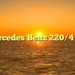 Mercedes Benz 220/4 115