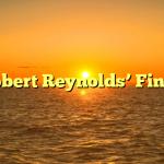 Robert Reynolds' Finds