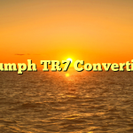 Triumph TR7 Convertible