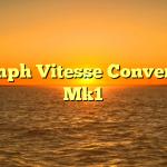 Triumph Vitesse Convertible Mk1