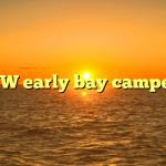 VW early bay camper