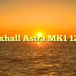 Vauxhall Astra MK1 1200s