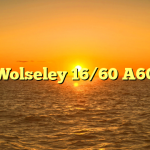 Wolseley 16/60 A60